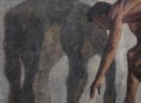 Ipseidad 4 - 2014 ; 58 x 76 cm ; huile s/ toile