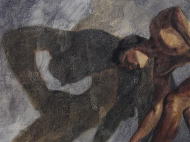 Ipseidad 2 - 2014 ; 58 x 76 cm ; huile s/ toile