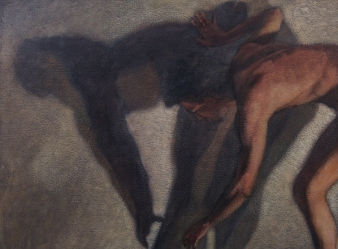Ipseidad 3 - 2014 ; 58 x 76 cm ; huile s/ toile