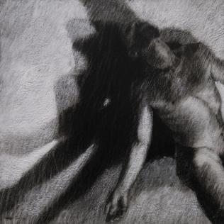 Ipseidad 13, 2014 56 x 56 cm mixte sur papier chiffon