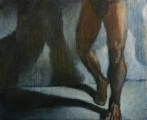 """""""Sombra I"""", 2008 60 x 73 cm acrylique sur toile"""