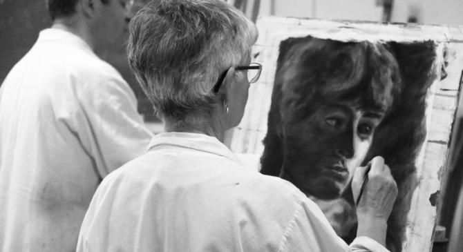 Rentrée 2017: cours de peinture etdessin