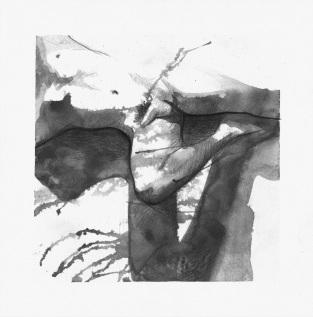 Ombre, étude 5, 2017