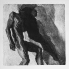 Sombra 25, 2017 - 50x50 cm - Monotype sur papier Fabriano